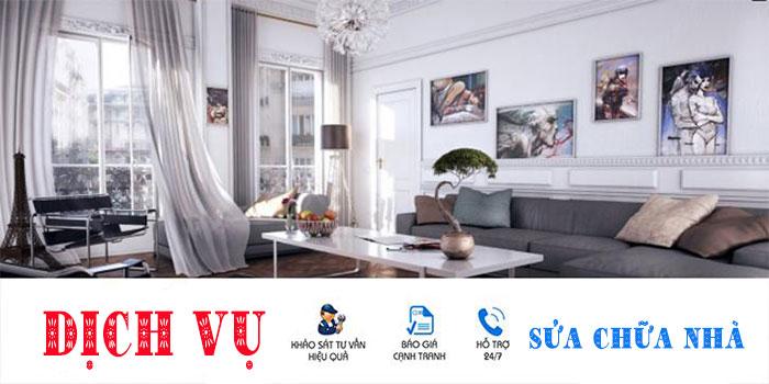 Sửa nhà quận Bình Tân chuyên nghiệp