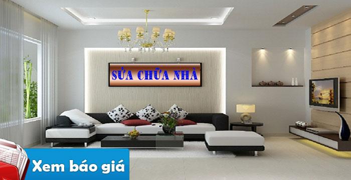 Sửa nhà quận Phú Nhuận nhanh giá rẻ