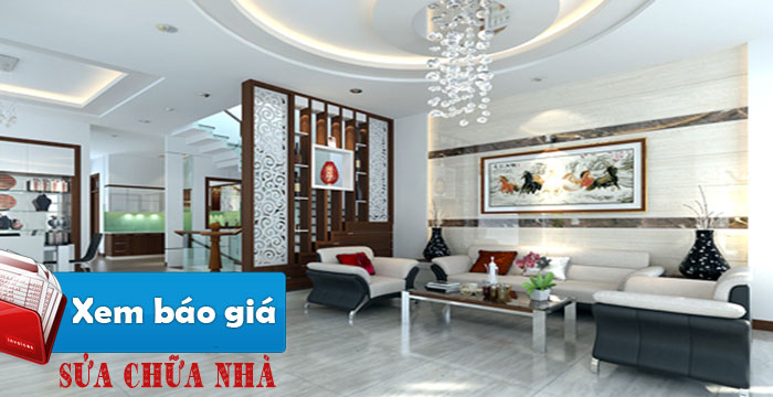 Sửa nhà quận Phú Nhuận nhanh giá rẻ đẹp