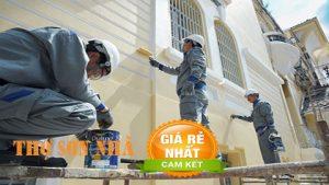 Thợ sơn nhà tại quận 8 uy tín