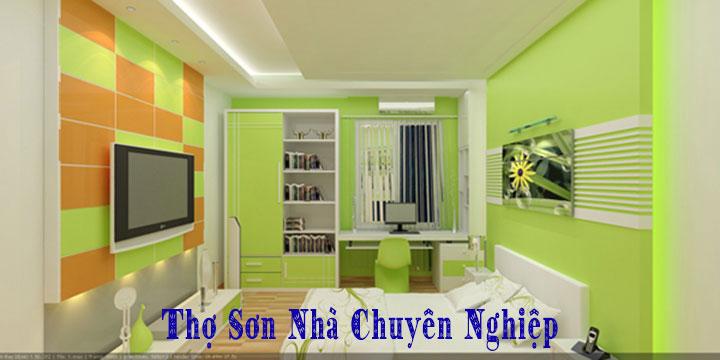 Thợ sơn nhà tại quận Phú Nhuận giá rẻ uy tín
