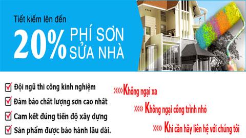 Thợ sơn nhà tại quận Tân Bình chuyên nghiệp