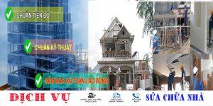 Chuyên nhận sửa nhà quận Tân Phú giá rẻ