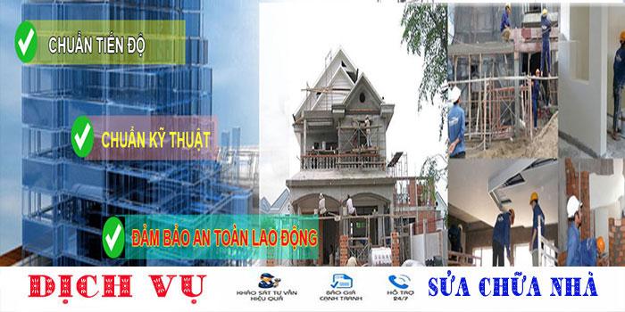 Thuận Phát chuyên nhận sửa nhà quận Tân Phú giá rẻ