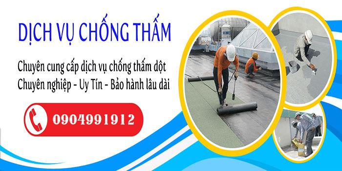 Dịch vụ chống thấm uy tín tại Tphcm, Bình Dương, Đồng Nai