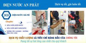 Dịch vụ sửa chữa điện nước tại quận 5
