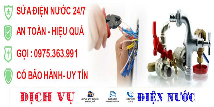 Sửa chữa điện nước tại quận Bình Tân uy tín giá rẻ