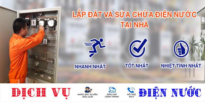 Chuyên nhận sửa chữa điện nước tại quận Tân Bình