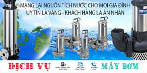 Chuyên sửa máy bơm nước tại nhà quận Bình Tân