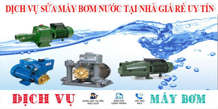 Chuyên sửa máy bơm nước tại nhà quận Bình Tân uy tín