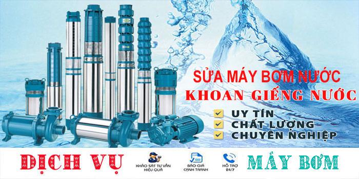 Chuyên sửa máy bơm nước tại nhà quận Tân Phú uy tín
