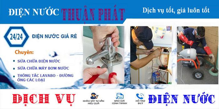 Dịch vụ sửa chữa điện nước tại nhà quận Tân Phú