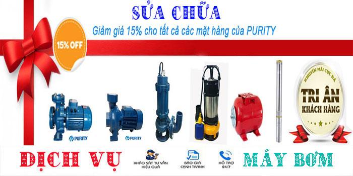 Sửa chữa máy bơm nước tại nhà quận Bình Thạnh