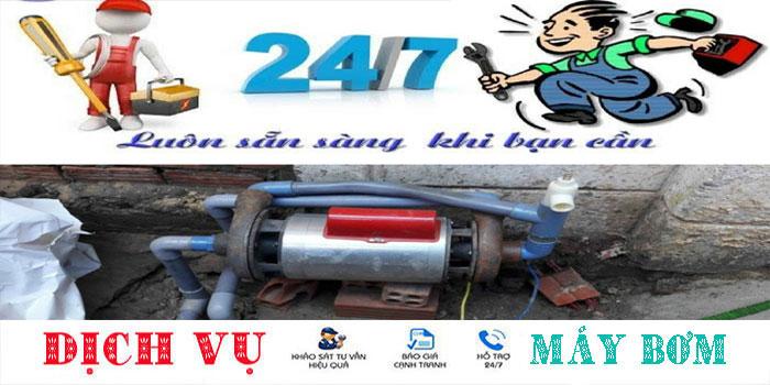 Sửa máy bơm nước tại nhà quận Gò Vấp uy tín