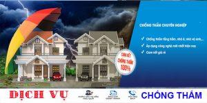 Chuyên chống thấm sân thượng tại quận Bình Tân