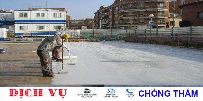 Chuyên chống thấm sân thượng tại quận Phú Nhuận uy tín