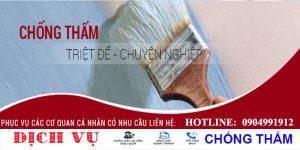 Chuyên chống thấm sân thượng tại quận Tân Phú uy tín