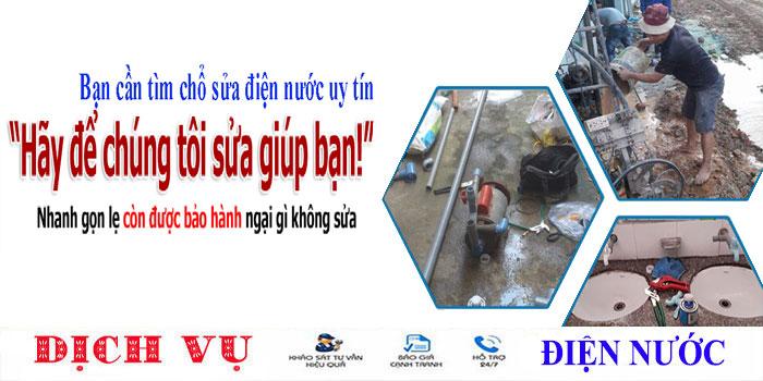 Thợ chuyên nhận sửa ống nước tại nhà quận 3 uy tín