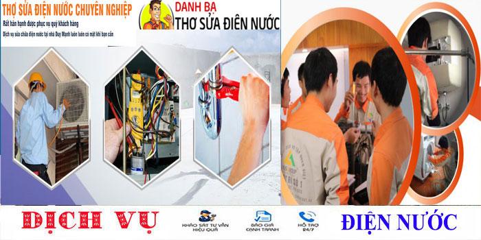 Thợ chuyên sửa ống nước tại nhà quận Phú Nhuận uy tín