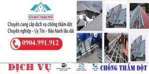 Thợ chống dột mái tôn quận Bình Tân