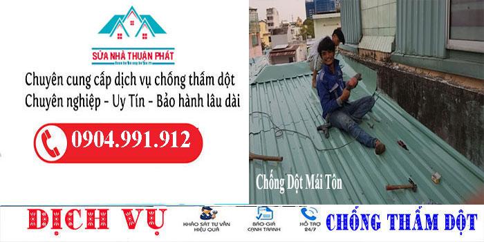 Thợ chống dột mái tôn quận Gò Vấp