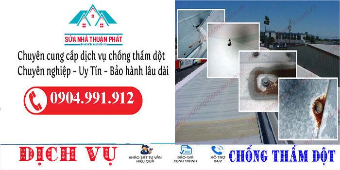 Thợ chống dột mái tôn quận Tân Bình giá rẻ