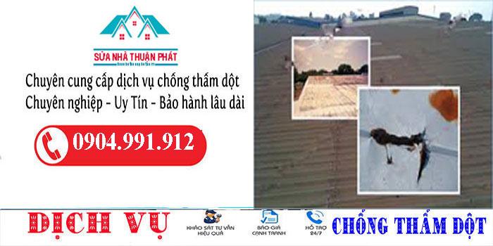 Thợ chống dột mái tôn quận Tân Bình
