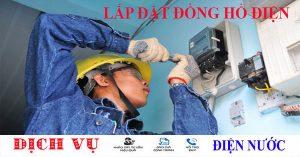 Dịch vụ lắp đặt đồng hồ điện
