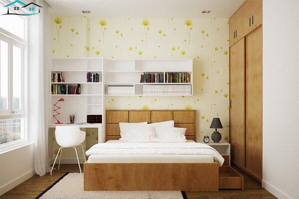 Phòng ngủ có diện tích 10m vuông