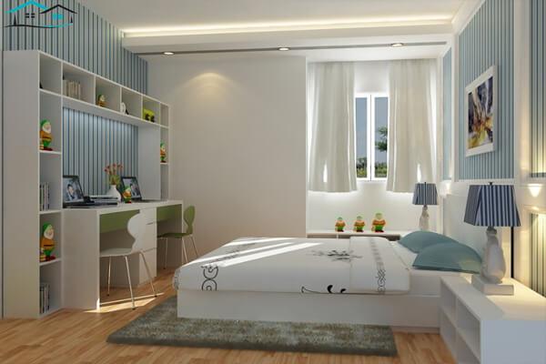 Phòng ngủ có diện tích 6m vuông