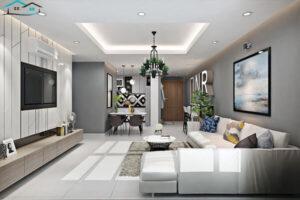 Trang trí phòng khách hiện đại, đẹp phổ biến hiện nay