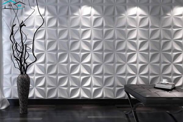 Mẫu xốp trang trí tường 3D