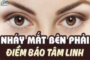 Mắt phải giật và nháy mắt phải là điềm báo gì?