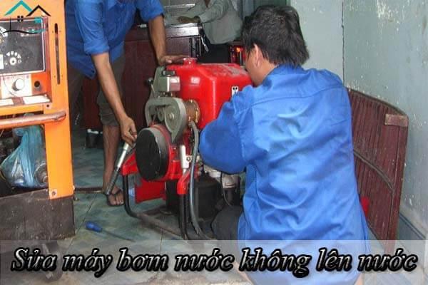 Sửa máy bơm không lên nước