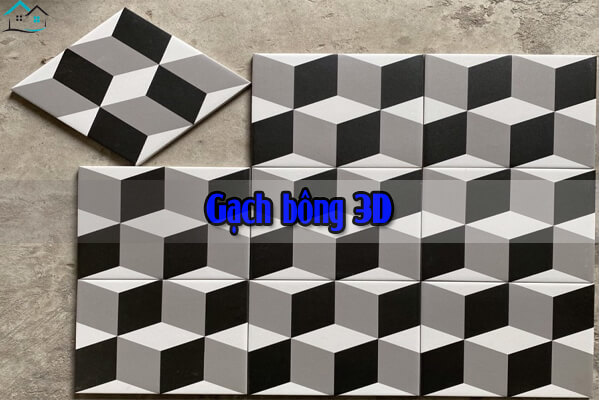 Gạch bông 3D